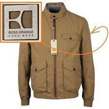 NWT Hugo Boss Orange Label by Hugo Boss Motorcycle Style Jacket in Beige