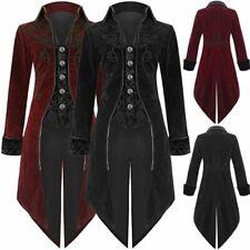 Hommes Manteau Victorian Steampunk Gothique Veste Gentlemen Coat Cosplay Costume