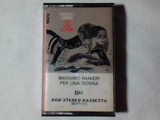 MASSIMO RANIERI Per una donna mc cassette k7 GUIDO CREPAX RARISSIMA VERY RARE!!!