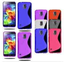 Pour Samsung Galaxy S5 mini - Coque Gel Silicone S-line - Un film aux choix