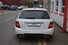 Mercedes W204 S204 C180 C220 C200 C250CDI Quad Exhaust & Diffuser Estate Wagon