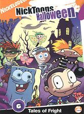 Nicktoons - Halloween (DVD, 2003) Spngebob, Rugrats, Fairly Odd Parents NIP