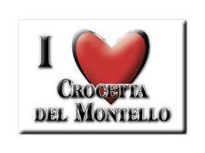 CALAMITA VENETO FRIDGE MAGNET MAGNETE SOUVENIR LOVE CROCETTA DEL MONTELLO (TV)