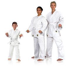 Judoanzug, Karate, Ju Jutsu, Teakwondo Randori KWON®, weiß, mittelschwer 120-200