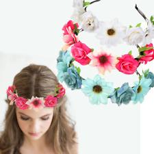 Serre-tête FESTIVAL fleurs couronne pétales Parure pour cheveux serre-tête fleur