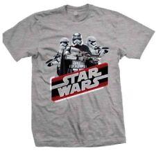 Star Wars T Shirt Official Licensed Disney produit Gris epvii vintage Phasma New