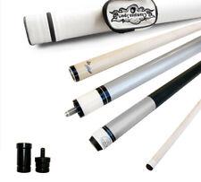 Champion ST5B Silver Pool Cue Stick-11.75mm Tip, White Pool case, Cuetec Glove
