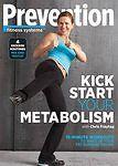 Prevention Kickstart Your Metabolism~New~15 Minute Workouts~Abs/Fat Blast/Sculpt