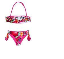 New Desigual Girls/Kids Guinardo Fuchsia Rose Bikini Swimwear Set M, L, XL