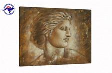 Oil Painting on Canvas - Antique Art Roman Portrait - Framed  Unframed
