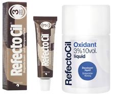 Refectocil Augenbrauen und Wimpernfarbe 15ml plus Entwickler flüssig 100ml