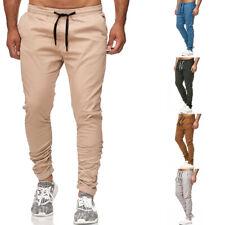 Reslad Chino-Hose Herren Jogg-Jeans Chino Style Freizeithose Jogginghose RS-2082