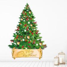 Candy Cane Tree vrolijk kerstfeest Muursticker WS-45389