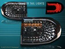 2007-2010 TOYOTA FJ CRUISER SMOKE L.E.D TAIL LIGHTS LED 08 09 NEW
