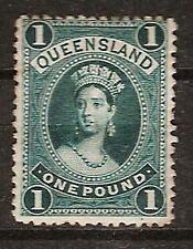 Queensland Australia # 83 Mint Queen Victoria Royalty