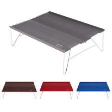 Portable Ultra-light Aluminum Folding Travel Camping Table + Carry Bag