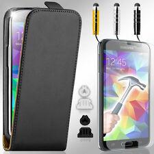 Handy Tasche für Samsung Galaxy Schutz Hülle Flip Case Cover Etui PANZERFOLIE