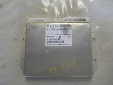 99 MERCEDES E320 W210 4MATIC SEDAN ABS CONTROL MODULE ETS PML UNIT A 2105450932