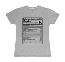 T-Shirt Damen DOSIS PUDEL Lebensergänzungsmittel by Siviwonder