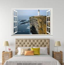 3D Tall Tower 0136 Open Windows WallPaper Wandbilder Wall Print AJ Jenny