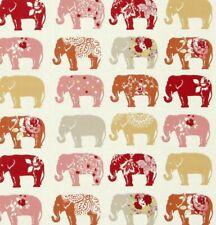 Hindu Paisley Floral Elephants 100/% Polyester 150cm Wide Woven Chiffon Fabric
