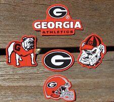 Iron On Sew On Transfer Applique Georgia Bulldogs Athletics Cotton Patches