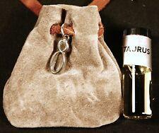 Zodiac essence medicine bag - Taurus (gray suede)