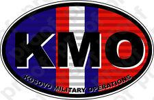 STICKER MILITARY KOSOVO VETERAN KMO COL
