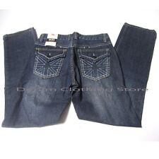 MEN BRAND YASO JEANS CLASSIC STRAIGHT LEG  BLUE BUTTON POCKET P1015A 31 34 36