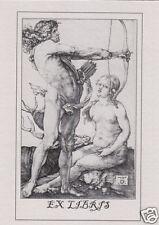 EX LIBRIS BOOKPLATE Apollo And Diana