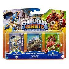 Skylanders Giants Battle Pack Dragonfire Cannon - Chop Chop,Shroomboom,Cannon