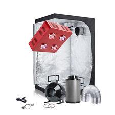 TopoGrow Grow Tent Kit Package LED800W COB Grow Light+Grow Tent+ Ventilation Kit