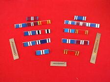 Ribbon Bar Brooches, Full Size in Enamel
