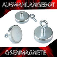 Neodym POWER Ösenmagnet Hakenmagnete  Supermagnete Systemmagnete Ösen Magnete