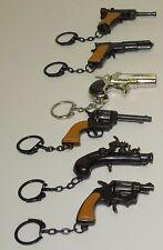Key Chain Gun--Mini Die Cast (Choose Hand Gun)