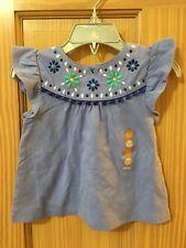 Nwt Gymboree Floral Flower Tassel Batik Tee Shirt Toddler Girls Safari Smiles