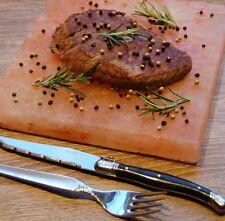 Gourmet Grill-Salzstein Salzplatte heißer Stein Grillfliese in 2 versch. Größen