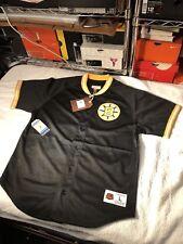 Mitchell And Ness Boston Bruins Mesh Button Jersey