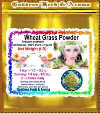 1.2 LBS WheatGrass POWDER organic Triticum aestivum USA 100% pure  PREMIUM BULK
