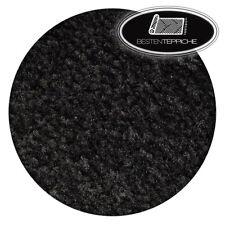 Rund Langlebig Modernen Teppich TRENDY schwarz große Größen Teppiche nach Maß