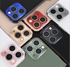 iPhone 11 Pro MAX Full Cover Metal Camera Lens Screen Protector Ring Slim Film