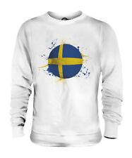 SWEDEN FOOTBALL UNISEX SWEATER  TOP GIFT WORLD CUP SPORT
