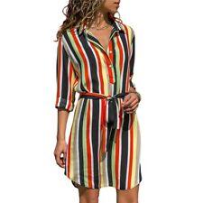 Robe chemise à manches longues mousseline de soie Boho robes de plage soirée
