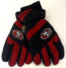NWT NFL San Francisco 49ers Grossman Vintage Men's Winter Ski Gloves NEW!!