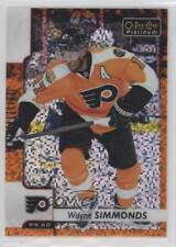 2017 O-Pee-Chee Platinum Orange Checkers #27 Wayne Simmonds Philadelphia Flyers