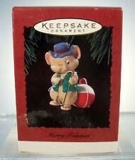 1994 Merry Fishmas Hallmark Christmas Ornament