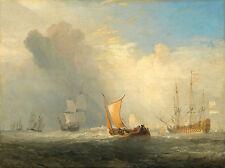 "J.M.W. Turner : ""Rotterdam Ferry-Boat"" (1833) — Giclee Fine Art Print"