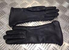 Genuine Military Black Leather Ladies Formal Dress Gloves. 3 Dart - Size 6½ NEW