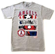 ANAHEIM ANGELS Official MLB Marvel Graphic Panels Team Spirit Tee Shirt S-2XL