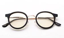 PC TV Eye Strain Protection Computer Glasses Anti Glare Vision Radiation Black